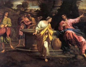 Painting by Annibale Carracci from 16th Century